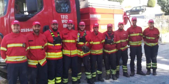 Bombeiros de Vila do Conde Ajudam em Baião